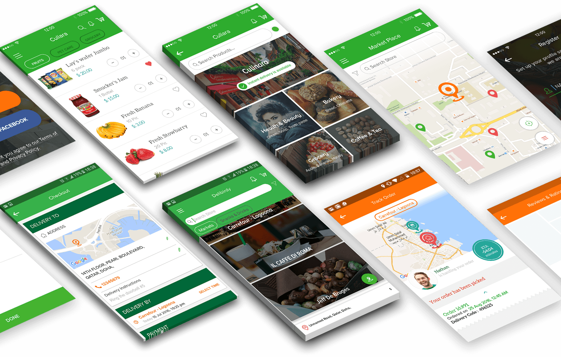 Mobile Application UI/UX